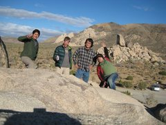 Rock Climbing Photo: The crew in JTree