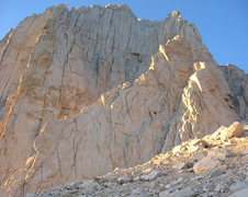 Rock Climbing Photo: The Arête as the sun sets in the Range of Light