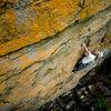 Will Eccleston leading Orange Crush. Photo: Andrew Kornylak.
