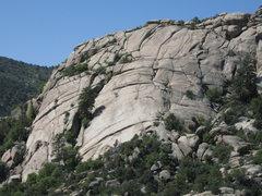 Rock Climbing Photo: Waves of Rock as seen from Lizard Head