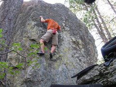 Rock Climbing Photo: Me with no head