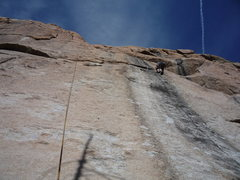 Rock Climbing Photo: Above the difficulties.