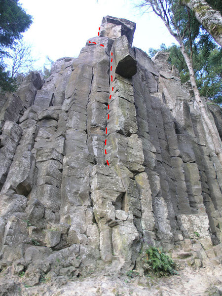 Rock Climbing Photo: Edges and Ledges 5.8