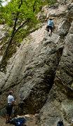 Rock Climbing Photo: Matt on TR