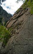 Rock Climbing Photo: Nice 5.7 slabbing.