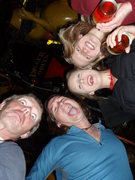Rock Climbing Photo: April beer night...