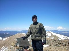 Rock Climbing Photo: Wheeler Peak 13,161ft