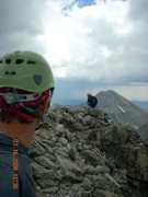Rock Climbing Photo: Ellingwood Point 14,027ft