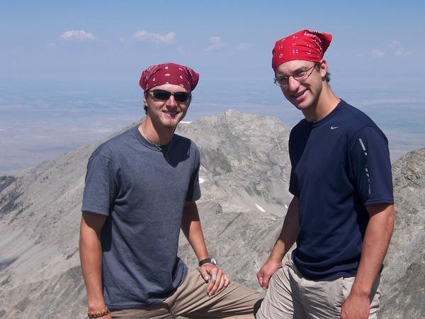 Rock Climbing Photo: Blanca Peak 14,345ft
