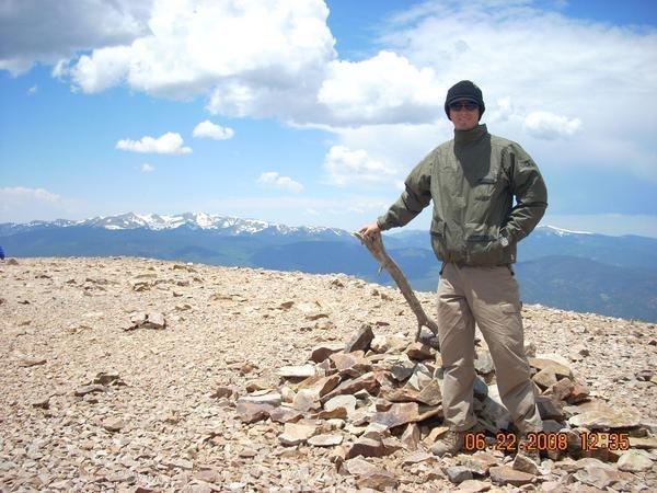 Rock Climbing Photo: Baldy Mtn. 12,466ft