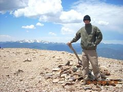 Rock Climbing Photo: Baldy Mtn. 12,466ft