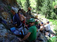 Rock Climbing Photo: Mallette Park, Red River, New Mexico