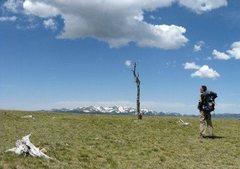 Rock Climbing Photo: In the Sangre de Cristo mountains
