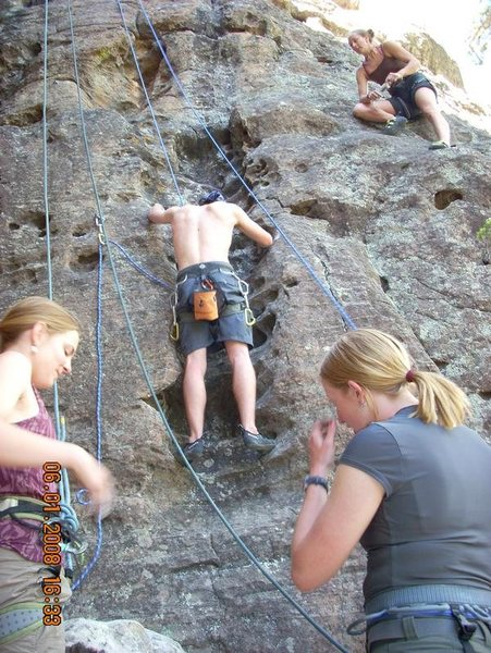 Rock Climbing Photo: Mavericks 5.7-