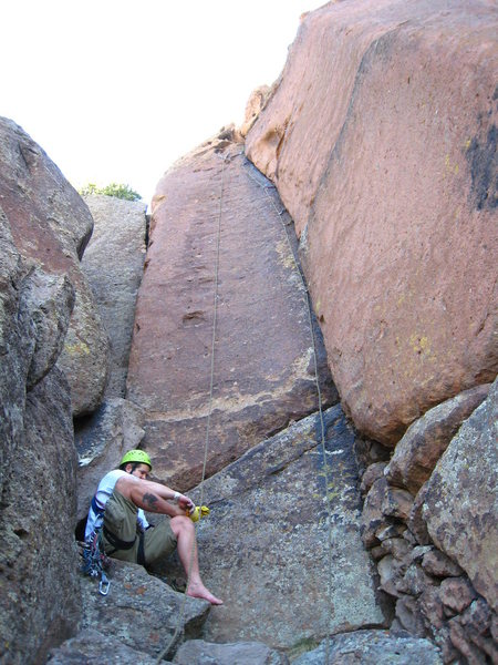 5.8 hands can be a nice respite from the relentless pockets and slabby faces at Cochiti