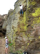 Rock Climbing Photo: Another photo from unknown route.