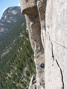 Rock Climbing Photo: This pitch is awesome, until it all falls off....