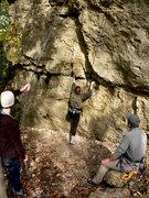 Rock Climbing Photo: Ethos (5.10)