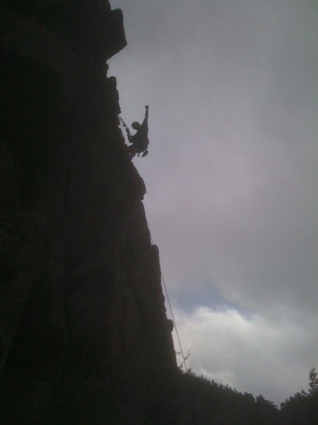 Rock Climbing Photo: Glory!