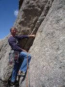Rock Climbing Photo: Starting the second pitch (the traditional 3rd pit...