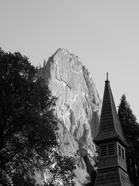 Sentinel Rock and the Chapel