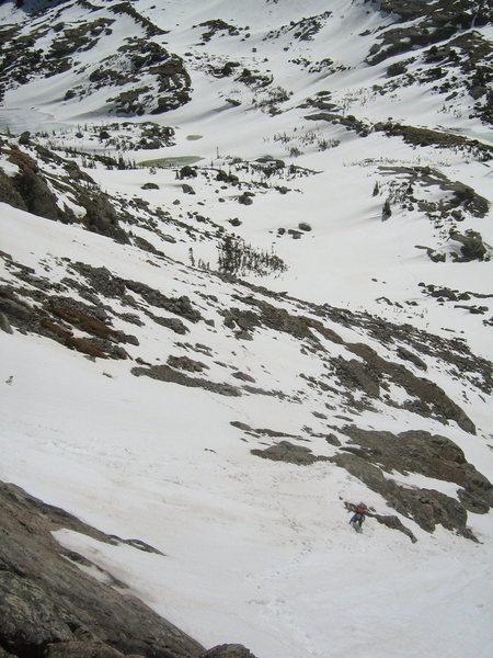 Rock Climbing Photo: the final approach