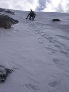 Rock Climbing Photo: Almost at the ridge