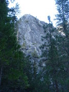 Rock Climbing Photo: Manure Pile Buttress with all 6 pitches of After S...