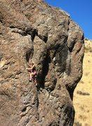 Rock Climbing Photo: A nice day for climbing