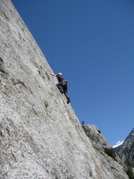 Rock Climbing Photo: 1st Coffin lead..so sweet