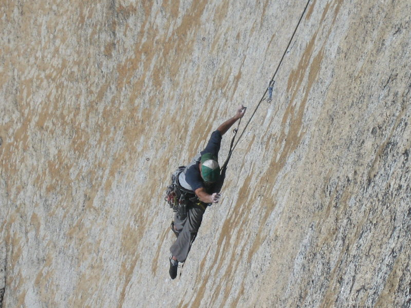 Rock Climbing Photo: I think this climb is called Ciebello, it's on Mel...