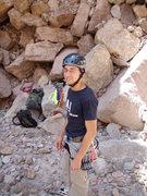 Rock Climbing Photo: Me at Queen Creek
