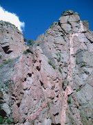 "Rock Climbing Photo: The ridge line that is ""The Escape""."