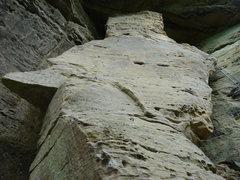 Rock Climbing Photo: Kokopeli's Dream 5.9  4 Bolts to the anchors