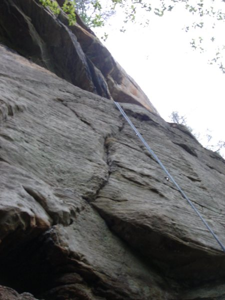 The Beginning sequence on Dingo the Gringo 5.10c