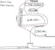 Devils Den Arkansas Map.Rock Climbing In Devil S Den Lakes Region