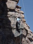 Rock Climbing Photo: Suzanne on Pizan