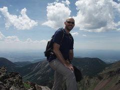 Rock Climbing Photo: On Mt. Humphries