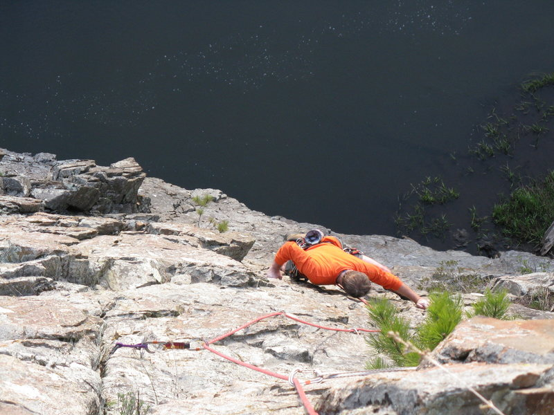 Sea cliff climbing in Nemo?