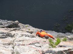 Rock Climbing Photo: Sea cliff climbing in Nemo?