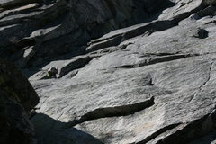 Rock Climbing Photo: Nathan Fitzhugh leading pitch one of El Wampo. 5-1...