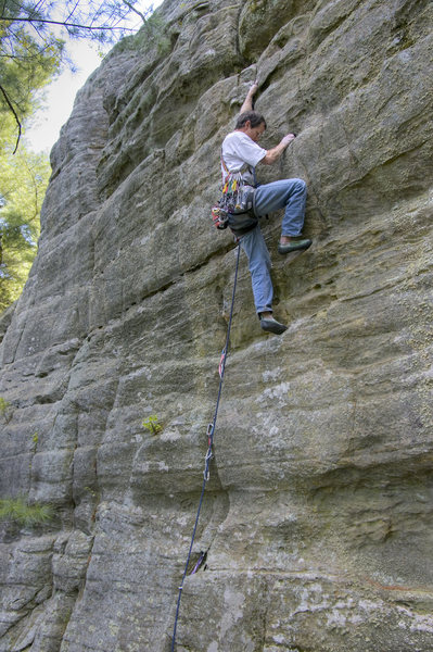 "Paul Wagener on the ""??"" 5.9 on Air Spire."