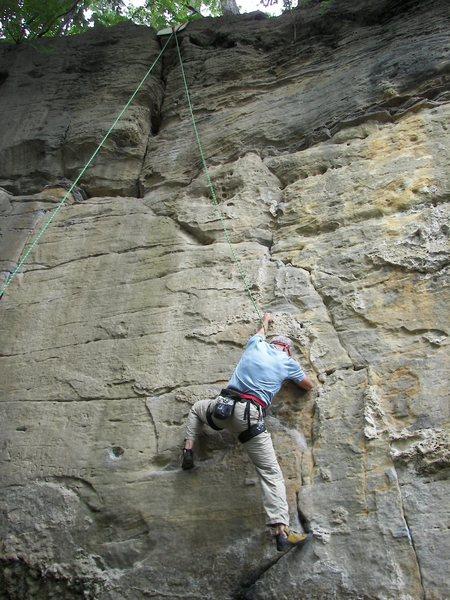Rock Climbing Photo: Pigeon Shit