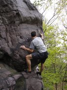 Rock Climbing Photo: Really fun problem.