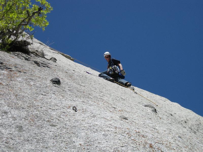 Rock Climbing Photo: A very fun lead!