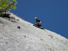 Rock Climbing Photo: A very fun lead!