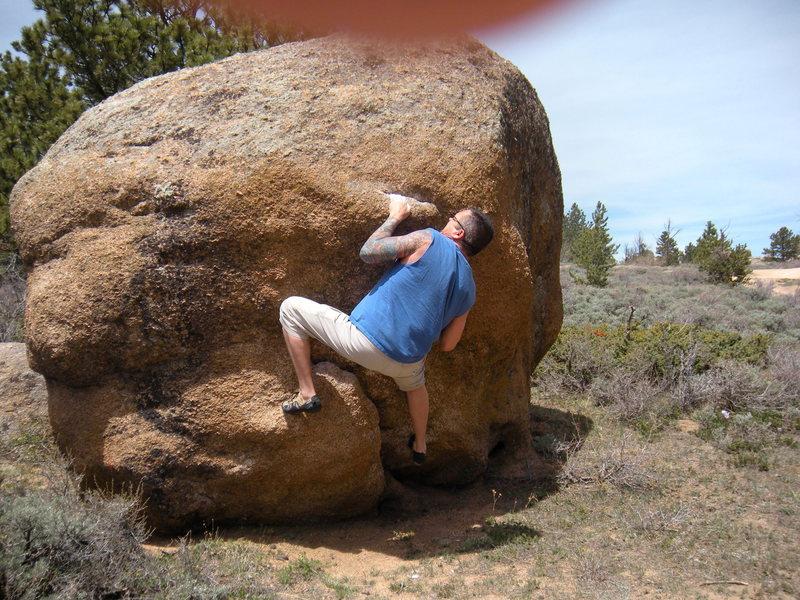 Rock Climbing Photo: Dung Beetle V3