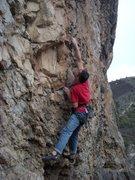 Rock Climbing Photo: Rehab at the Surgery Buttress, Glenwood Canyon.