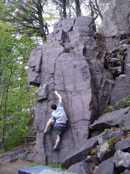 Rock Climbing Photo: Crack
