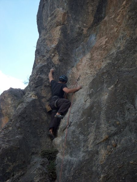 Rock Climbing Photo: Within Range at East Canyon, Glenwood Canyon.